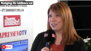 Video: Nudging för hållbara val - Katharina Paoli