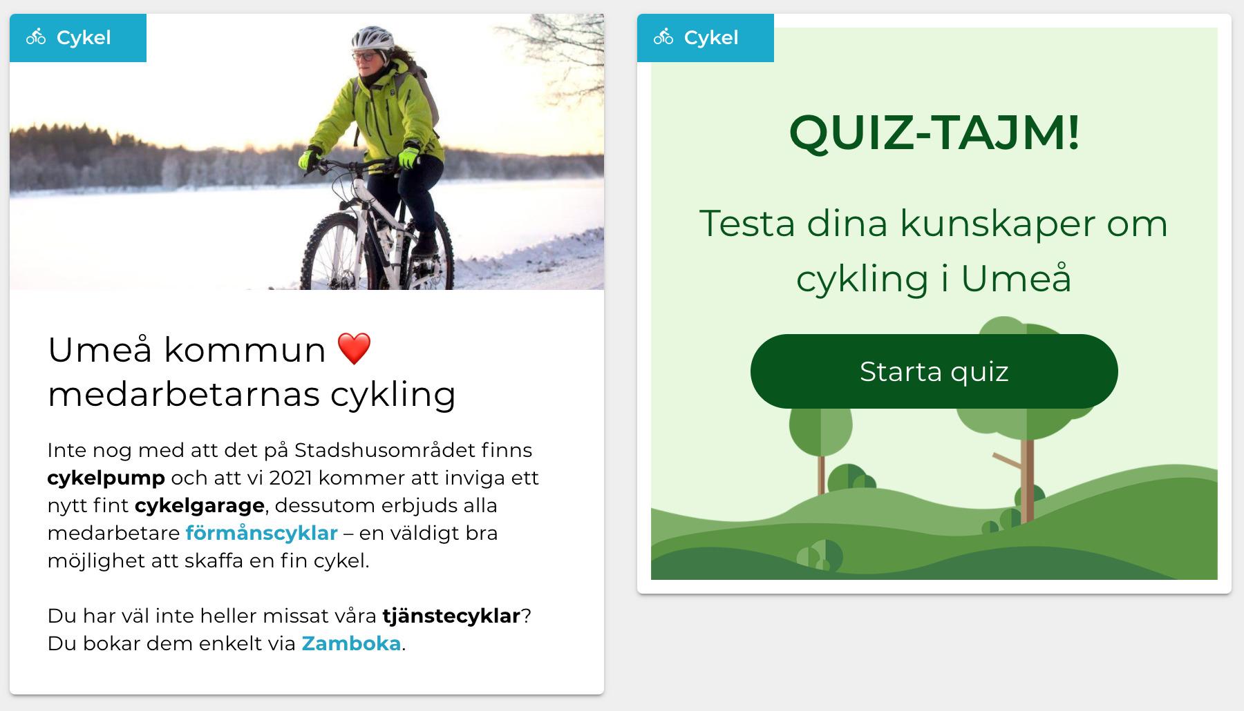 """Featured image for """"Umeå kommun väljer tjänsten Resvana i satsning för mer hållbart resande"""""""